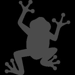 カエルのフリーアイコン3